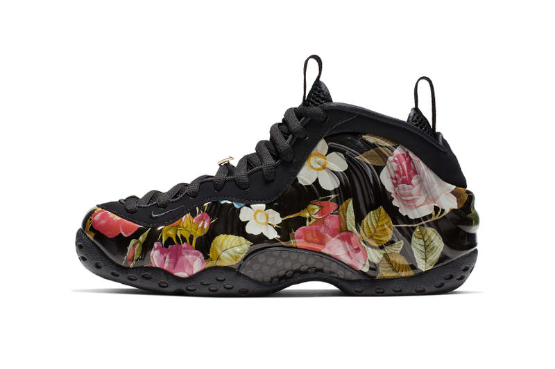 Nike All Star Weekend Floral Pack Foamposite One Black