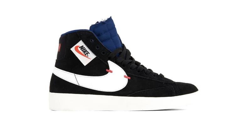 """Nike Blazer Mid Rebel """"Summit White""""/""""Black"""" Sneaker Shoe Release Footwear Trainer"""