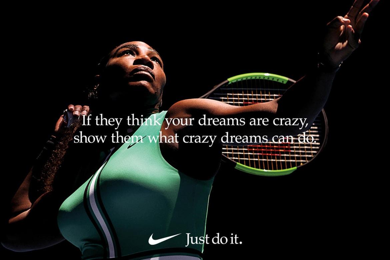 lino Inmigración aleatorio  Watch Nike Dream Crazier Video Serena Williams | HYPEBAE