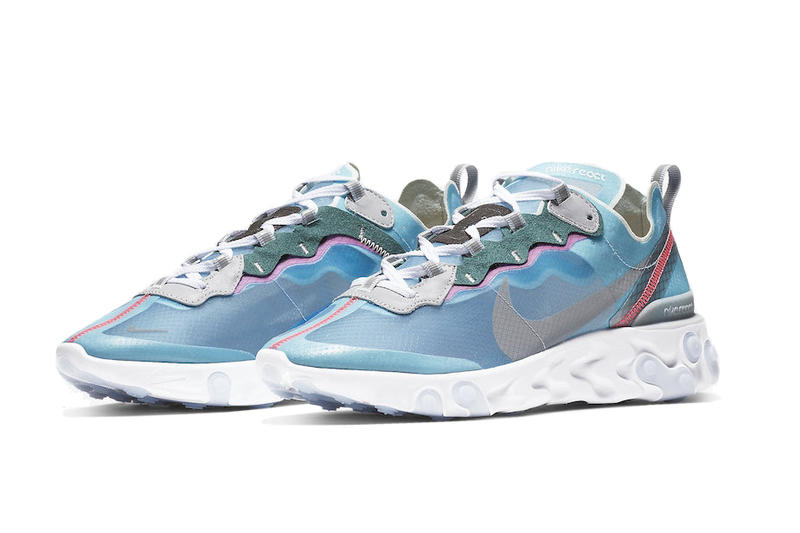 "Nike React Element 89 ""Royal Tint"" Release Date Blue Sneaker Size? Shoe"