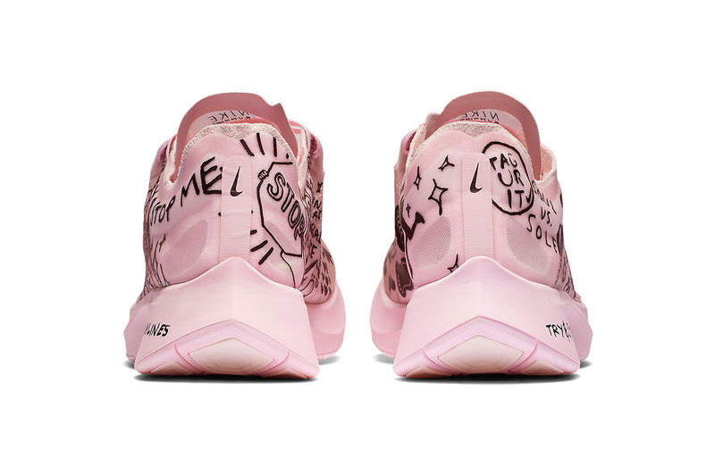 e0dc5bc3bda7a Nathan Bell x Nike Zoom Fly SP in Pink