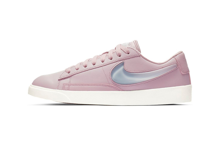 8b9ddd1b81d0 Nike s Blazer Low Goes Pink With This Premium