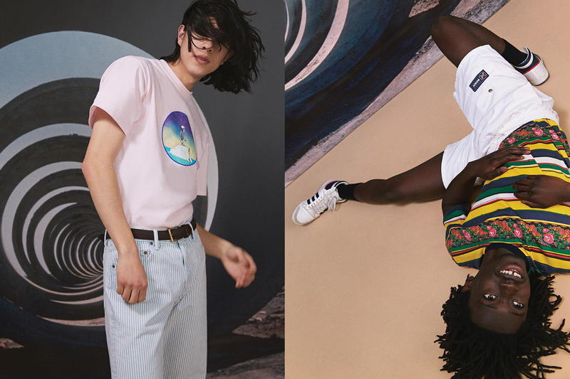 NOAH Spring Summer 2019 Lookbook Top Pink Pants Grey