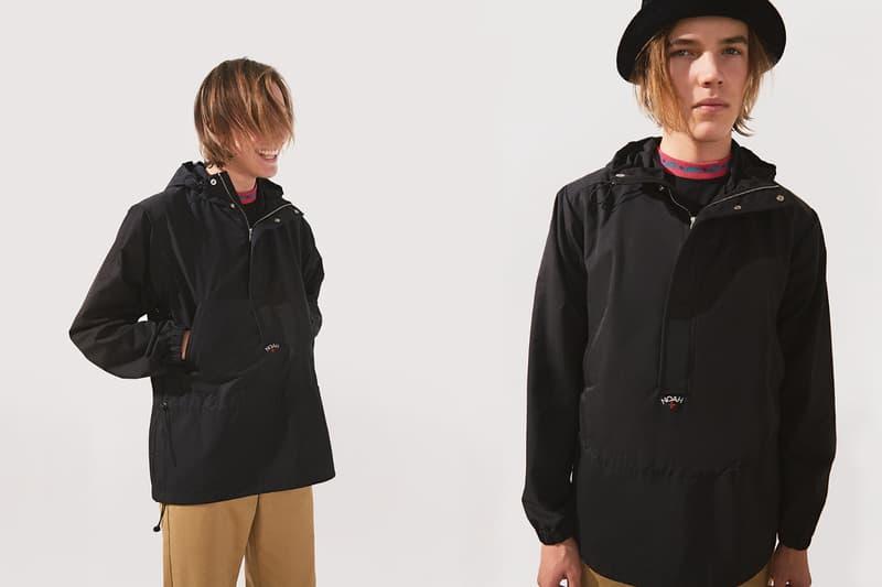 NOAH Spring Summer 2019 Lookbook Jacket Black