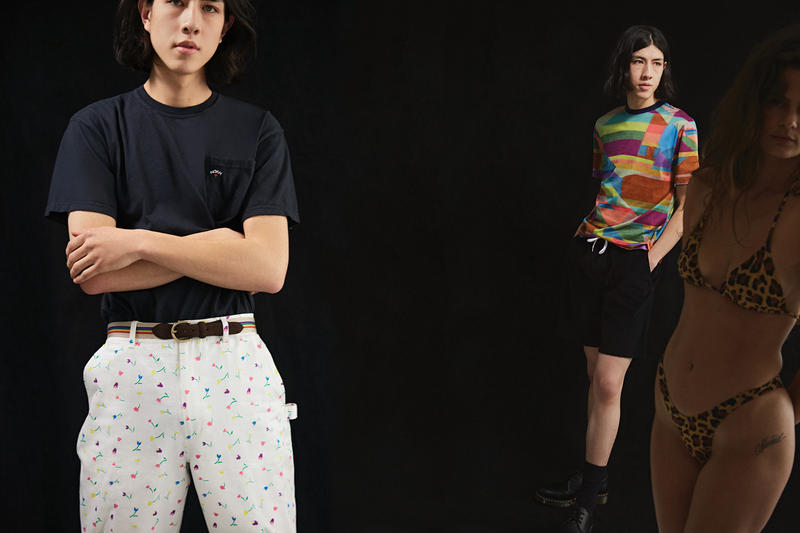 NOAH Spring Summer 2019 Lookbook Top Black Shorts White