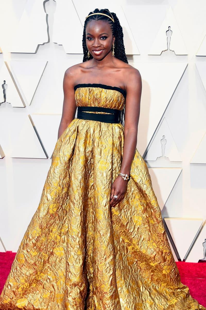 Oscars 2019 91st academy awards black panther red carpet Danai Gurira