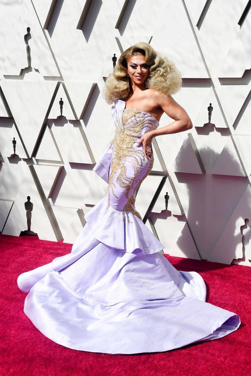 Oscars 91st Academy Awards 2019 Red Carpet Shangela dress lilac