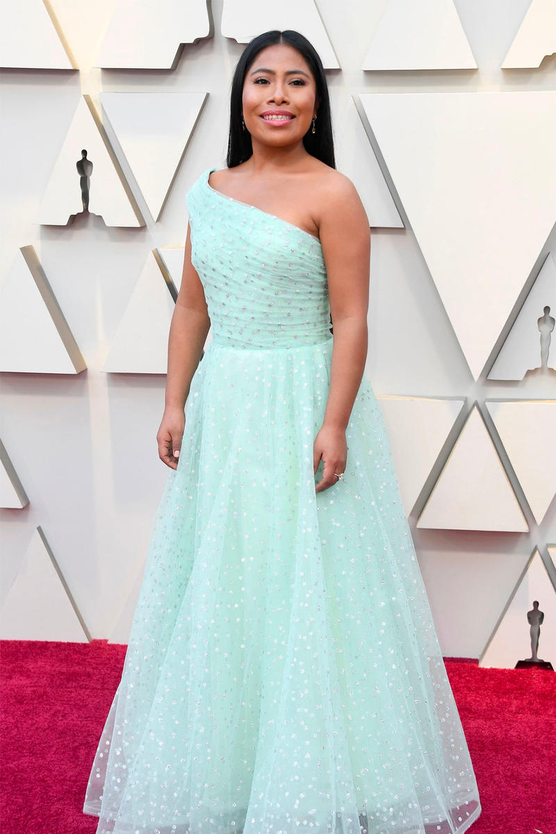 Yalitza Aparicio first indigenous Mexican woman Oscars 2019 91st Academy Awards Red Carpet Best Actress