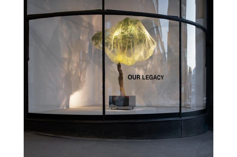 Our Legacy Womenswear Store Interior NK Stockholm SS19