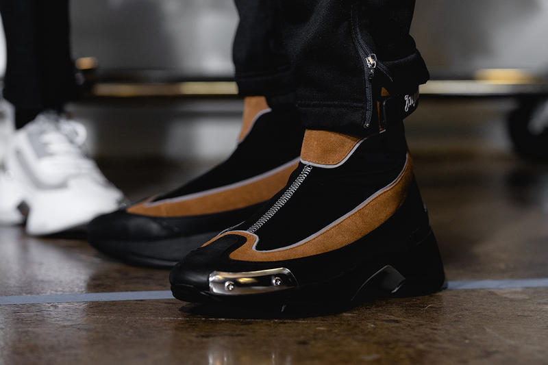Palm Angels Fall Winter 2019 FW19 NYFW New York Fashion Week Runway Show Backstage Boots Brown Black