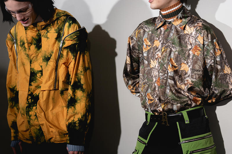 Palm Angels Fall Winter 2019 FW19 NYFW New York Fashion Week Runway Show Backstage Tie Dye