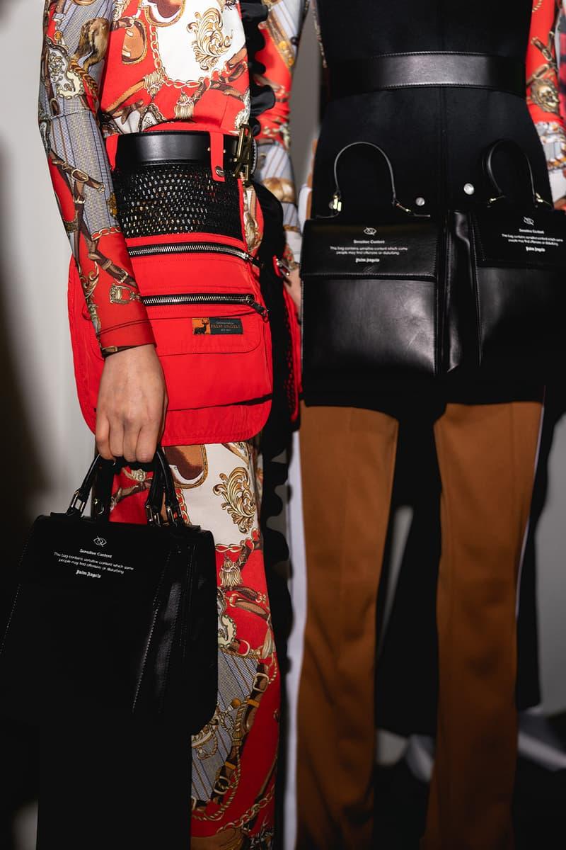 Palm Angels Fall Winter 2019 FW19 NYFW New York Fashion Week Runway Show Backstage Zipper