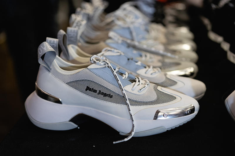 Palm Angels Fall Winter 2019 FW19 NYFW New York Fashion Week Runway Show Backstage Sneakers