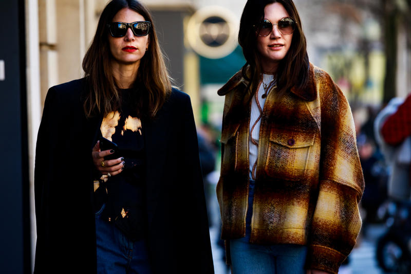 Paris Fashion Week FW19 Street Style Fall Winter 2019 Balenciaga Christian Dior Louis Vuitton