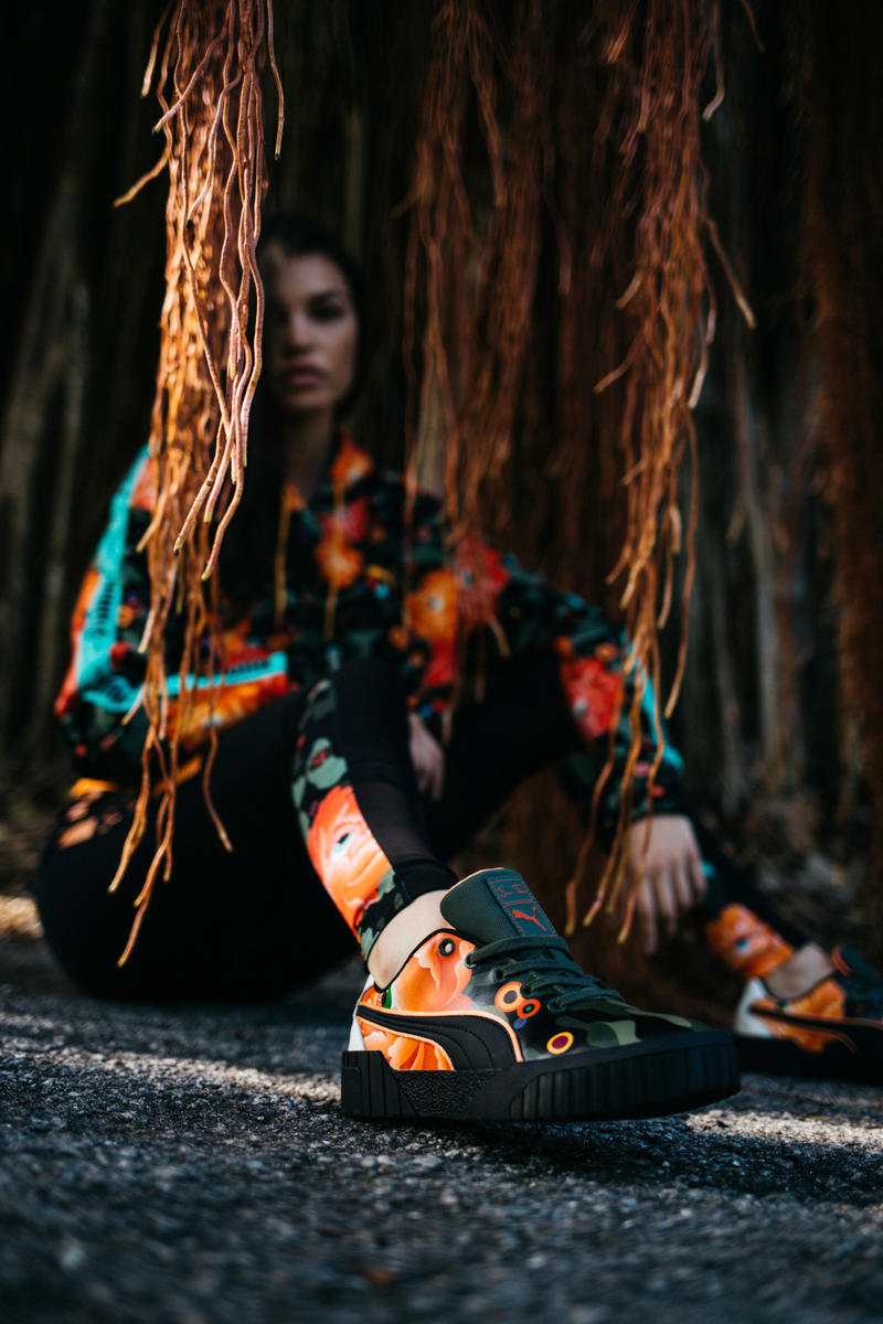 PUMA Collaborates With Artist Sue Tsai Sneaker Collaboration PUMA Nova Cali Basket Silhouettes Release