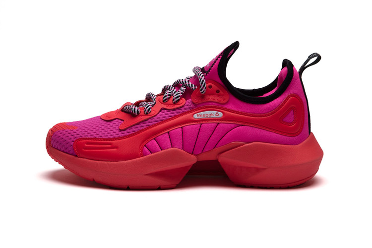 Get a Closer Look at the Vibrant Chromat x Reebok Sole Fury Collab 9fcfc4193
