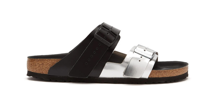 ae6b38e1efde Rick Owens  Latest Birkenstock Arizona Sandals Have a High-Shine Metallic  Finish