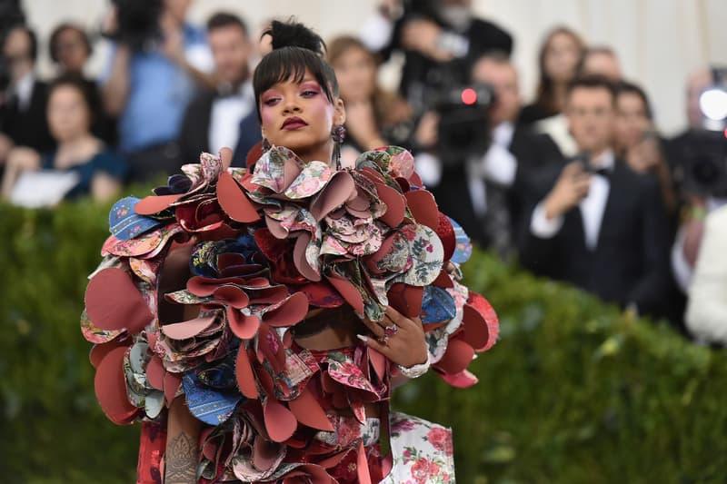 Rihanna's Most Iconic Fashion Looks Gucci Rei Kawakubo COMME des GARCONS Maison Margiela John Galliano Met Gala Coachella