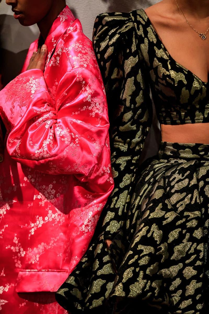 Selam Fessahaye Fall Winter 2019 Stockholm Fashion Week Backstage Amwin Amanda Winberg Sammy Johnny Bennett Sabina ddumba Lejonhjarta