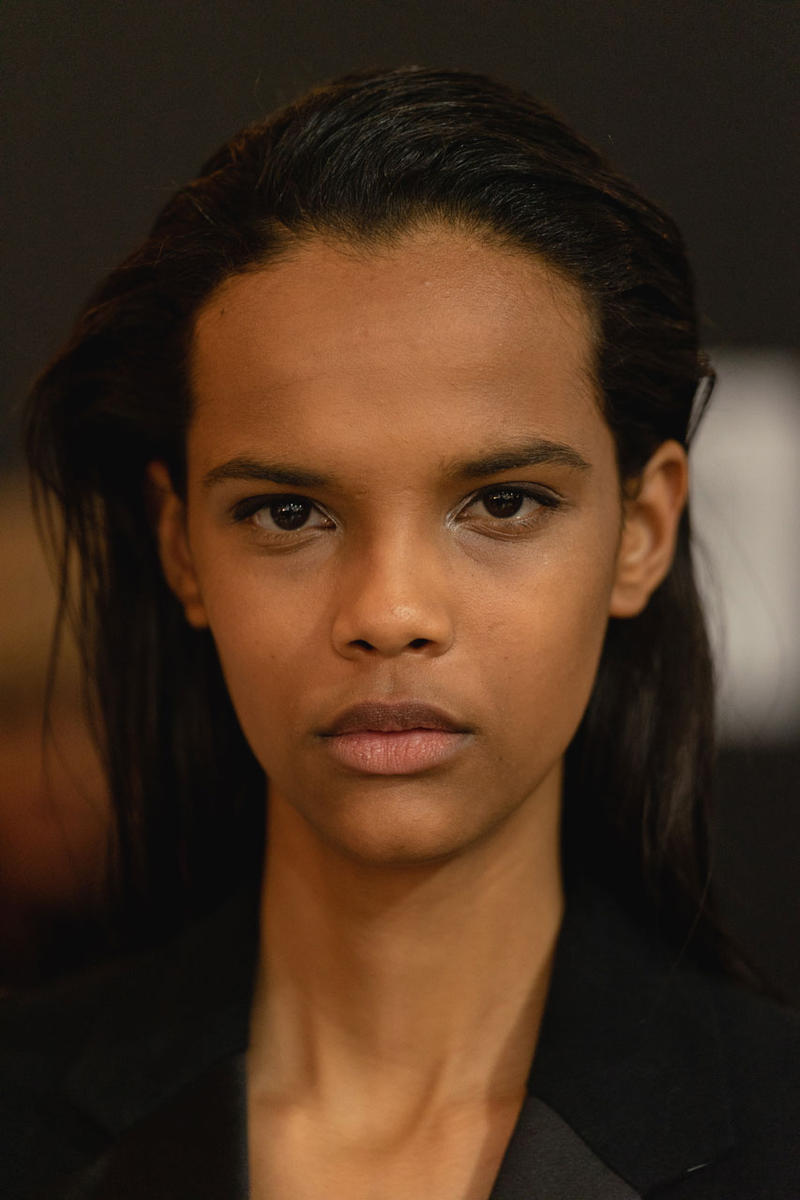 Model New York Fashion Week Helmut Lang