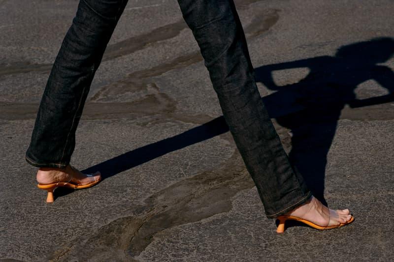 Simon Miller Shoe Collection Tee Heel Golden Orange