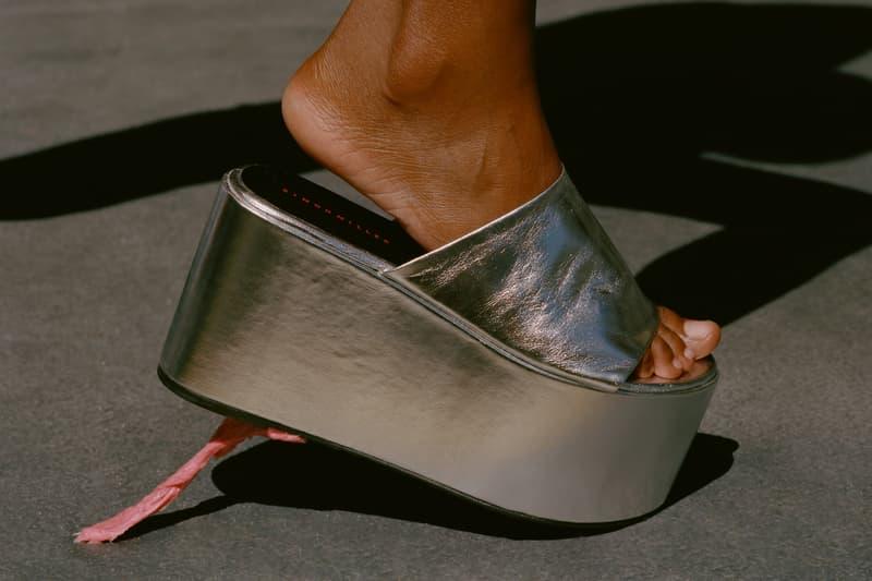 Simon Miller Shoe Collection Blackout Platform Tin Foil