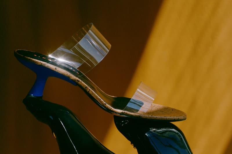 Simon Miller Shoe Collection Tee Heel Blue