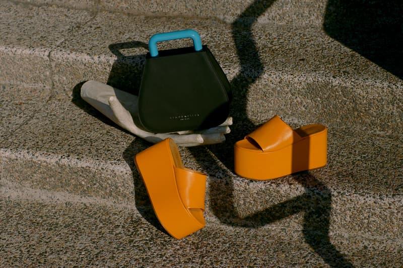Simon Miller Shoe Collection Blackout Platform Golden Orange