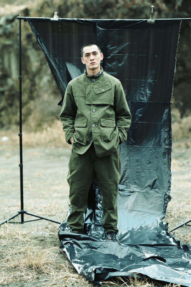 Snow Peak Fall Winter 2019 Collection Lookbook Top Pants Green