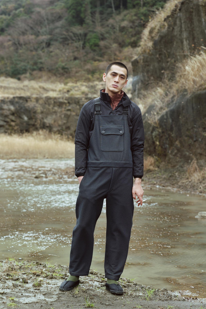 Snow Peak Fall Winter 2019 Collection Lookbook Overalls Black