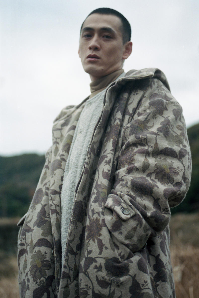 Snow Peak Fall Winter 2019 Collection Lookbook Jacket Camouflage