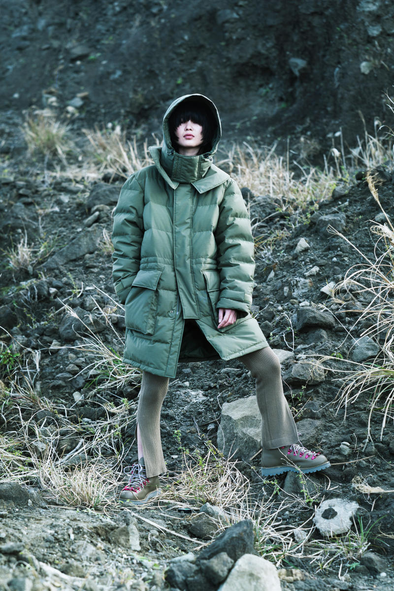 Snow Peak Fall Winter 2019 Collection Lookbook Jacket Green