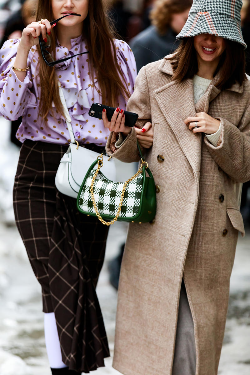 stockholm fashion week street style blogger influencer bags