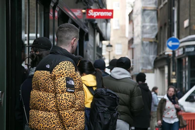 Supreme Sign London Jacket Yellow Black