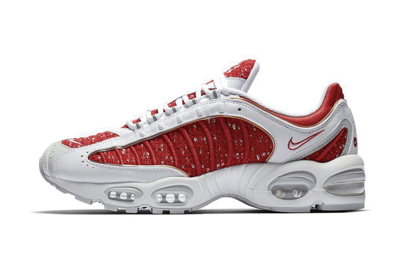 premium selection 9f106 c199c An Official Look at The Supreme x Nike Air Max Tailwind IV