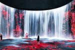 Picture of teamLab Teases a Digital Waterfall Installation You Can Walk Into