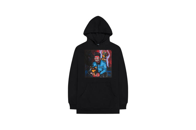 The Weeknd On Thursday Merch Collection Fan Collaboration Hoodie Black
