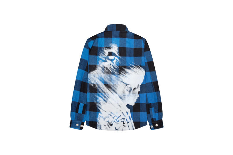 The Weeknd On Thursday Merch Collection Fan Collaboration Flannel Shirt Blue
