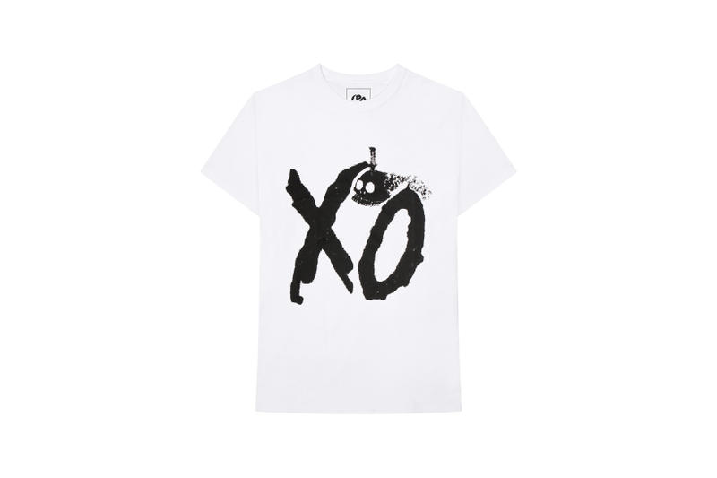 The Weeknd On Thursday Merch Collection Fan Collaboration T-shirt White