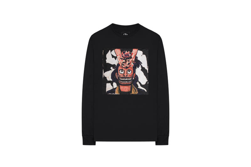 The Weeknd On Thursday Merch Collection Fan Collaboration Long Sleeved Shirt Black