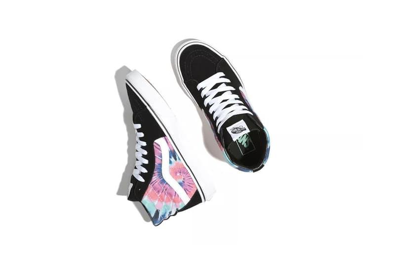 Vans Tie-Dye Pack Sk8-Hi Pink Blue White