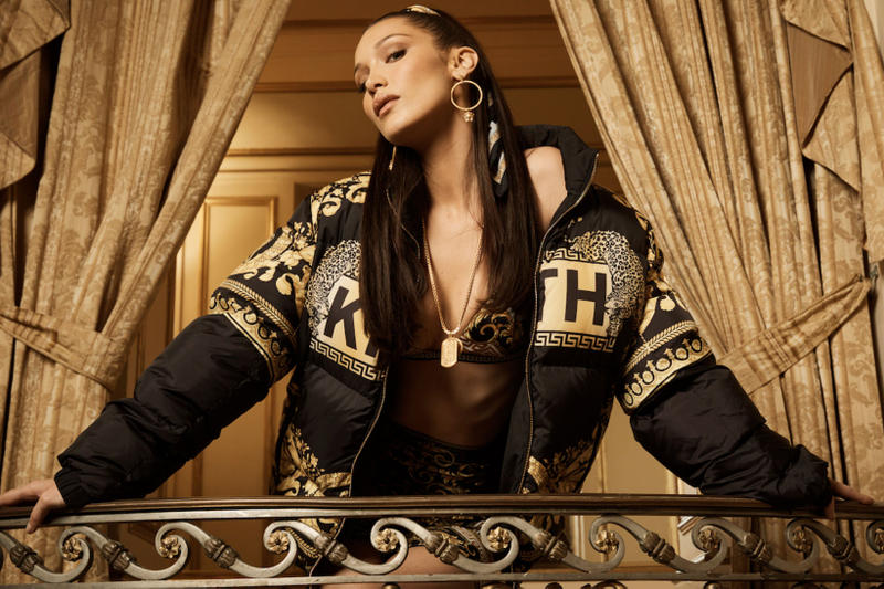 6de52fb38b Bella Hadid Is the Face of KITH x Versace s First Collection. Peep the full  campaign and release date here.