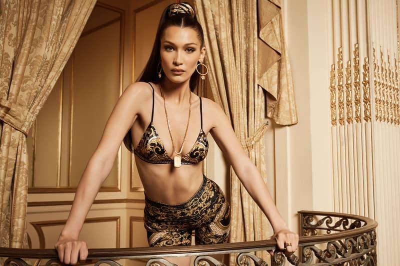 Versace KITH Bella Hadid