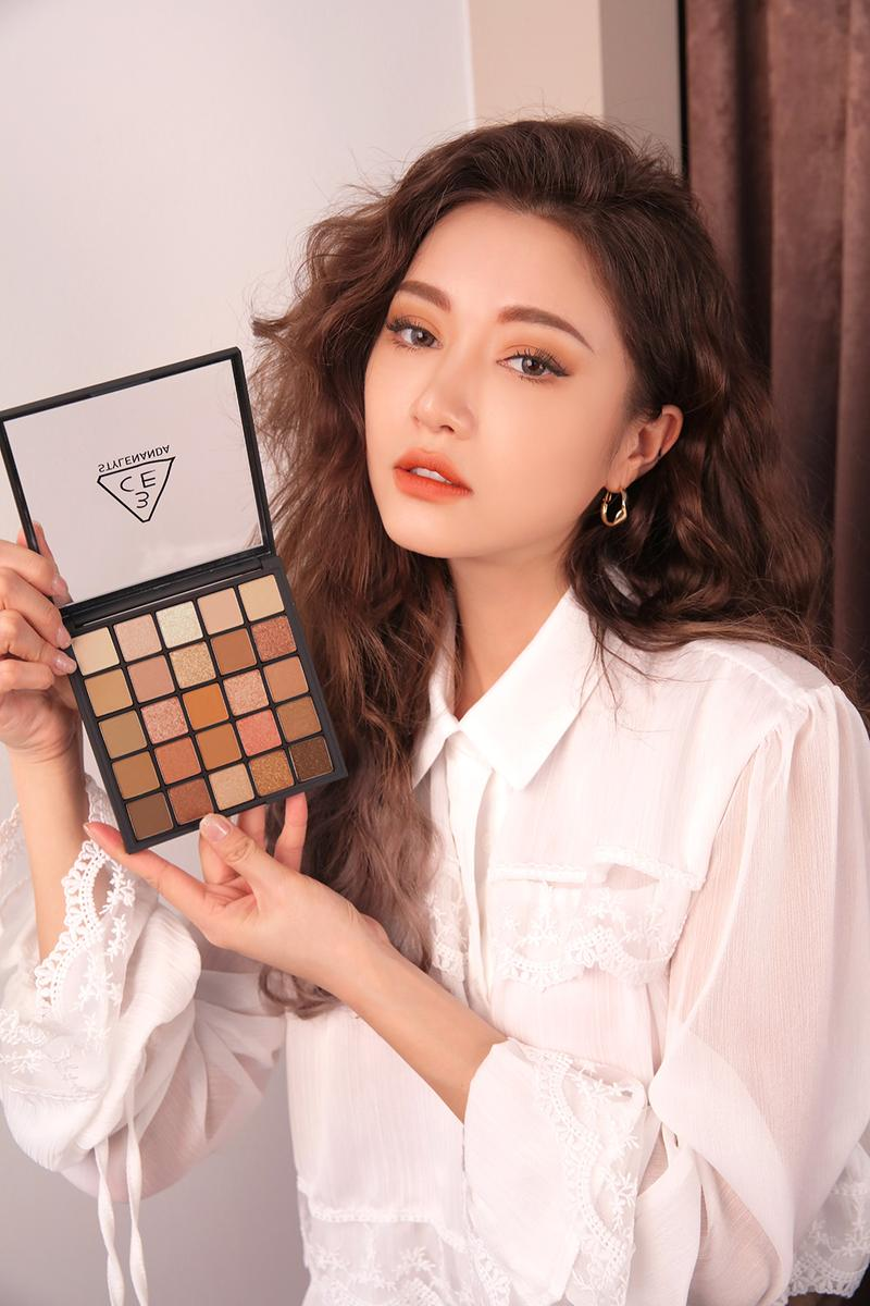 3ce korean beauty makeup cosmetics 10th anniversary eyeshadow blush palette kits