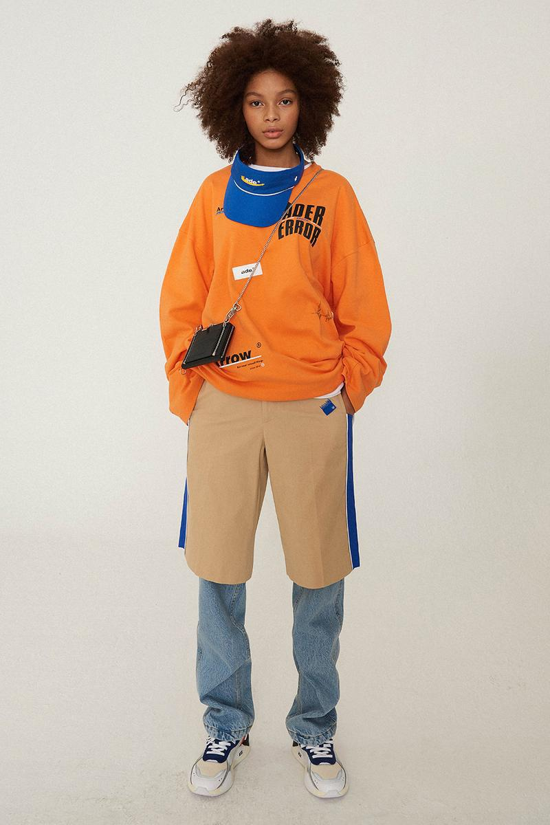 "Ader Error Spring/Summer 2019 Lookbook ""Arrow"" Collection Campaign"