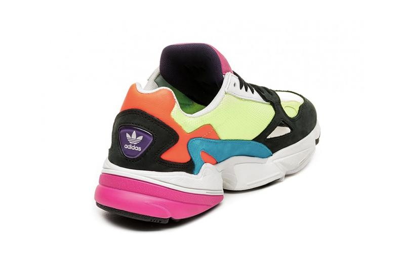 adidas Originals Falcon Drops in Bold Spring Hue Sneaker Pink Yellow Grey Black Blue Teal Summer Shoe Trainer