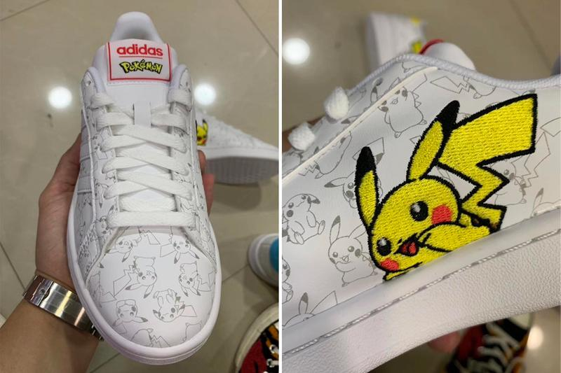 Pokémon adidas Originals Campus Pikachu Squirtle Sneakers Trainers Collaboration First Look