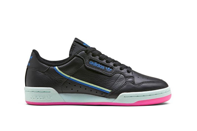 adidas Originals Continental 80 Black Green Pink