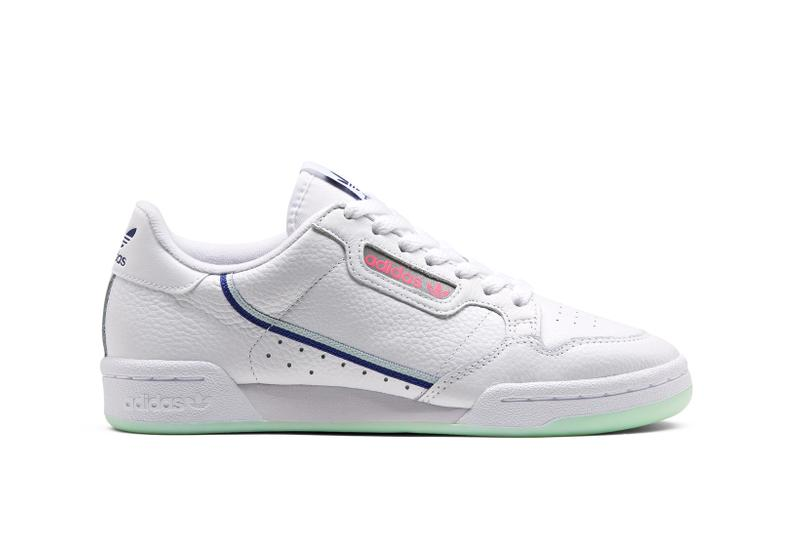 adidas Originals Continental 80 White Green Blue