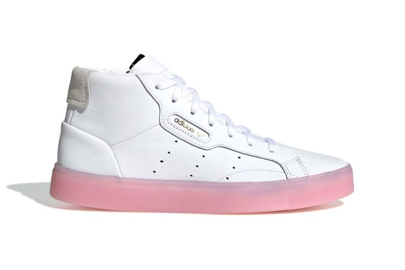 edcbad8af10a Where to Buy High Top Sleek in White PInk